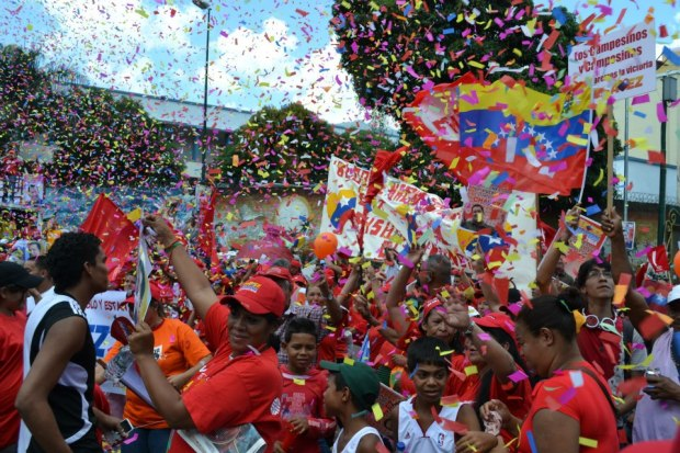Chavistas in Caracas