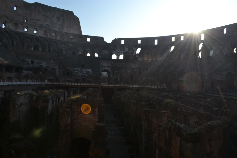 Rome's famed Colosseum. Italy's capital is a work of art, and as a short stop over between Morocco and Algeria, it's almost a different planet.