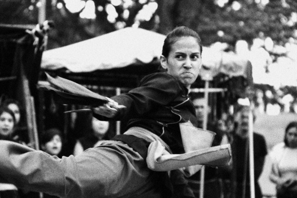 Martial artist.