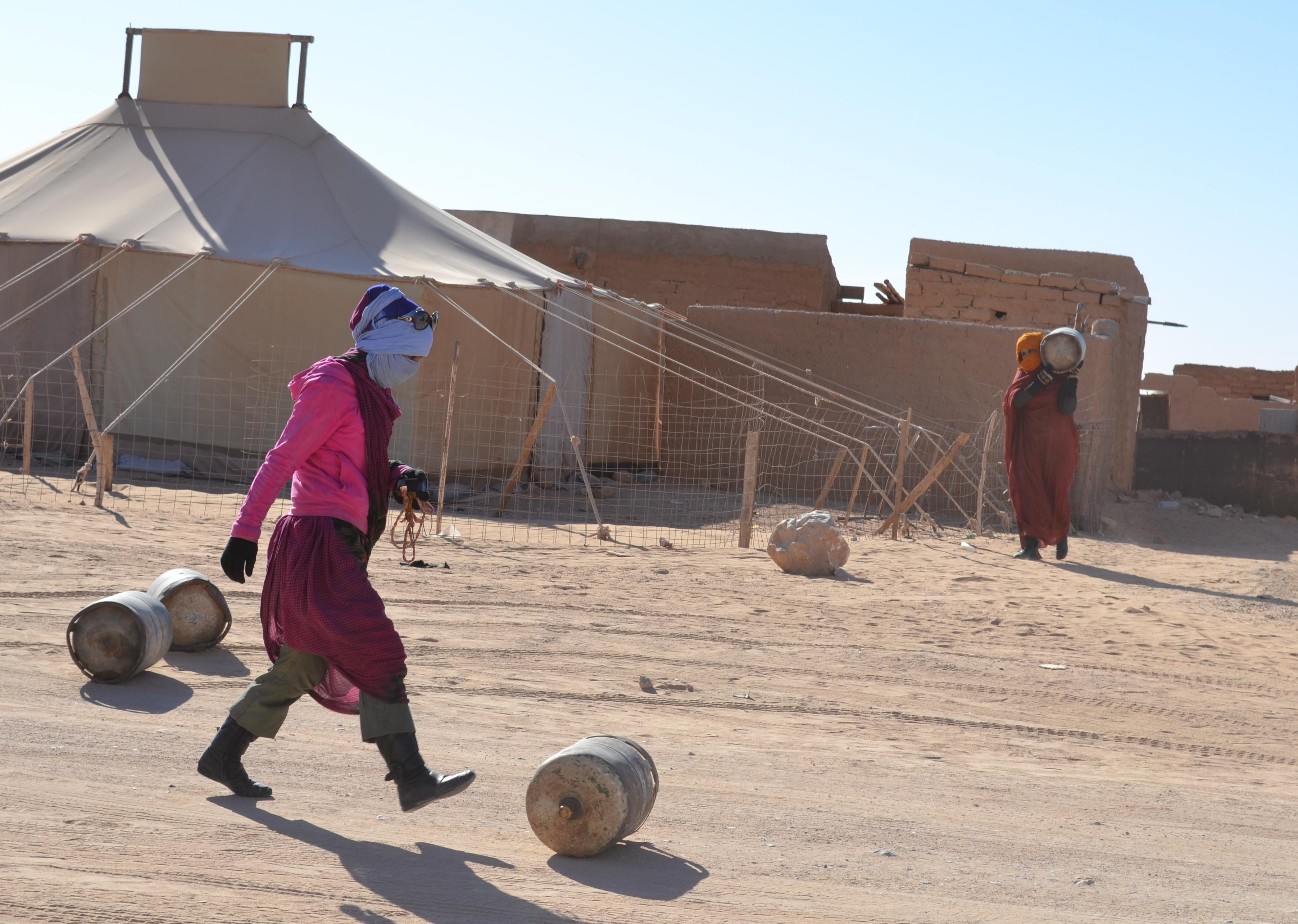 Resultado de imagen de refugee sahrawi camps hot