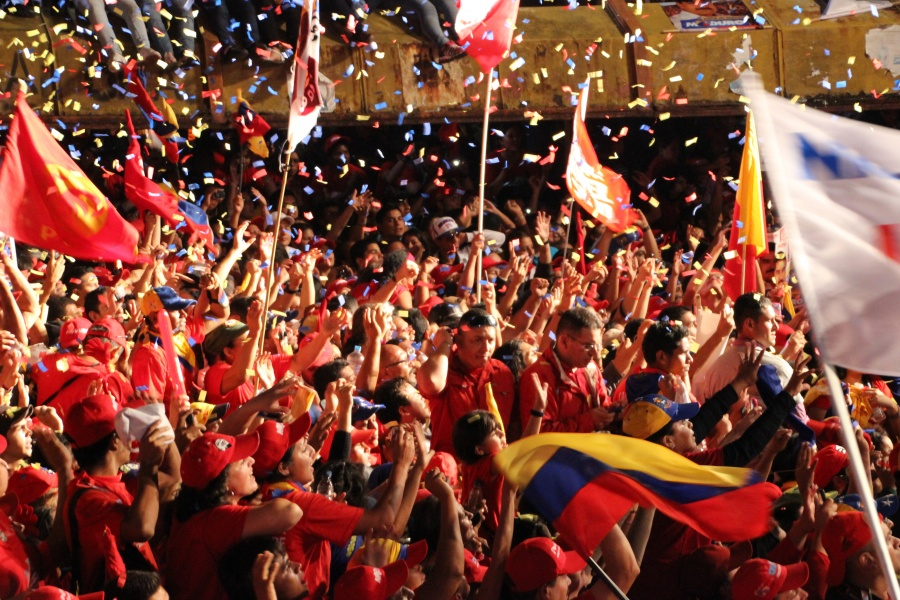 Maduro, Chavez's chosen successor, won the elections by less than 2%; a tiny margin by Venezuelan standards. In Merida's PSUV offices, joy turned to shock as the results were announced late on 14 April. It wasn't the victory many had expected.