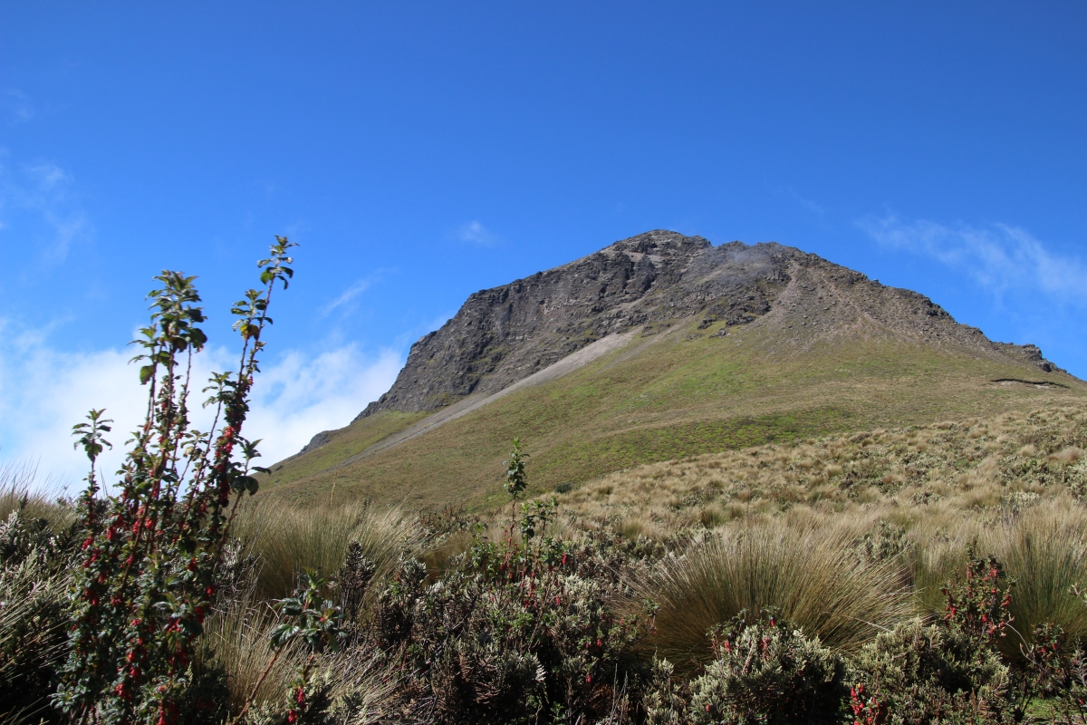 A Love Affair With Ecuador's Corazon Volcano