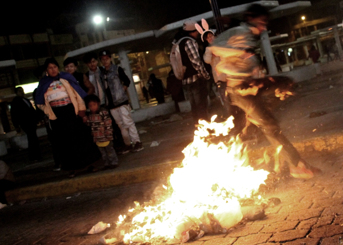 Drag Queens and Burning Effigies: It's Ecuadorian New Year!
